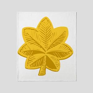 USAF-Maj-Gold Throw Blanket