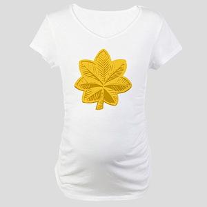 USAF-Maj-Gold Maternity T-Shirt