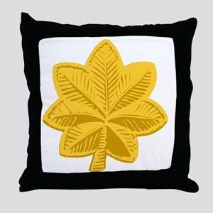 USAF-Maj-Gold Throw Pillow