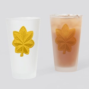 USAF-Maj-Gold Drinking Glass
