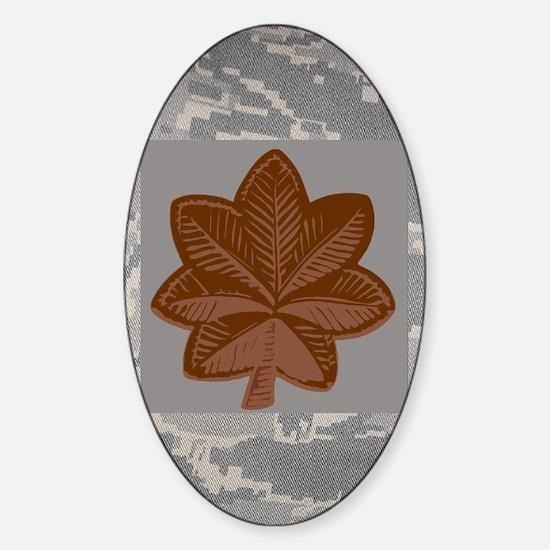 USAF-Maj-Magnet-ABU Sticker (Oval)