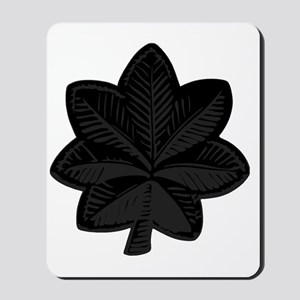 USAF-LtCol-Subdued-Black Mousepad