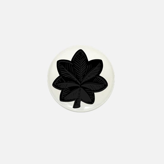 USAF-LtCol-Subdued-Black Mini Button