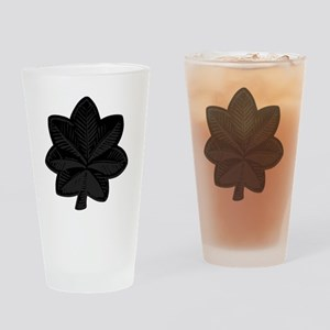 USAF-LtCol-Subdued-Black Drinking Glass