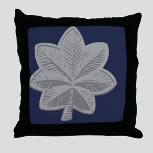 USAF-LtCol-Tile Throw Pillow
