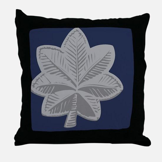 USAF-LtCol-Tile Throw Pillow