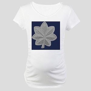 USAF-LtCol-Tile Maternity T-Shirt
