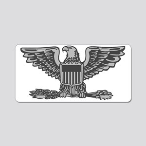 USAF-Col-Silver-Lighter Aluminum License Plate