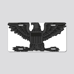 USAF-Col-Subdued-Black Aluminum License Plate