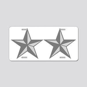 USAF-MG-Teddy-Bear Aluminum License Plate