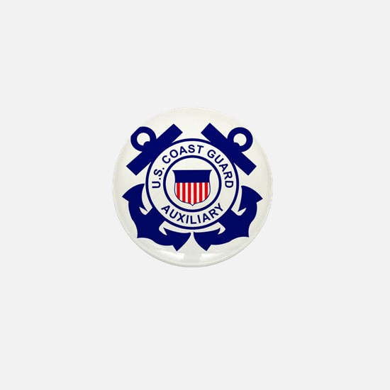 USCGAux-Logo-Bonnie Mini Button