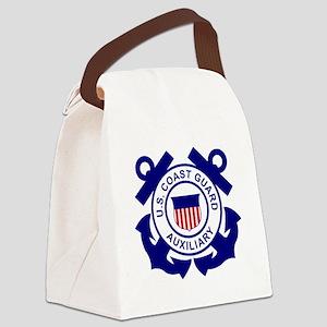 USCGAux-Logo-Bonnie Canvas Lunch Bag