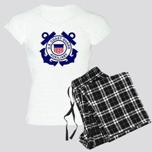 USCGAux-Logo-Bonnie Women's Light Pajamas