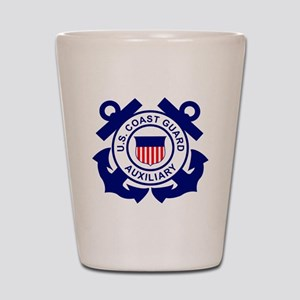 USCGAux-Logo-Bonnie Shot Glass