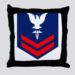 USCG-Rank-HS2 Throw Pillow