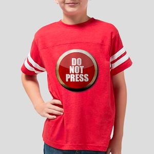 Do Not Press Youth Football Shirt