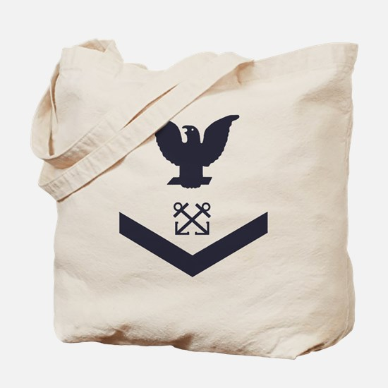 USCG-Rank-BM3-Crow-Subdued-Blue-PNG Tote Bag