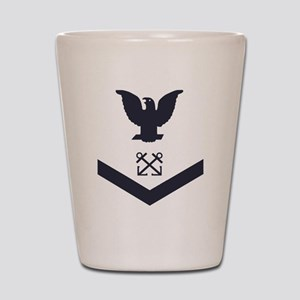 USCG-Rank-BM3-Crow-Subdued-Blue- Shot Glass