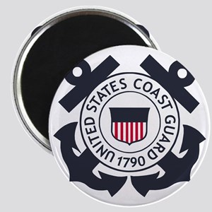 USCG-Logo-Blue-White-For-Blue-Crows Magnet