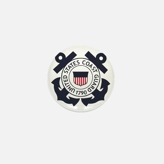 USCG-Logo-Blue-White-For-Blue-Crows Mini Button