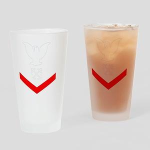 USCG-Rank-BM3-Crow- Drinking Glass