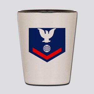 USCG-Rank-EM3 Shot Glass
