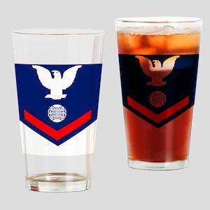 USCG-Rank-EM3 Drinking Glass
