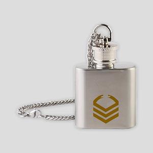USCG-Rank-HSCM- Flask Necklace