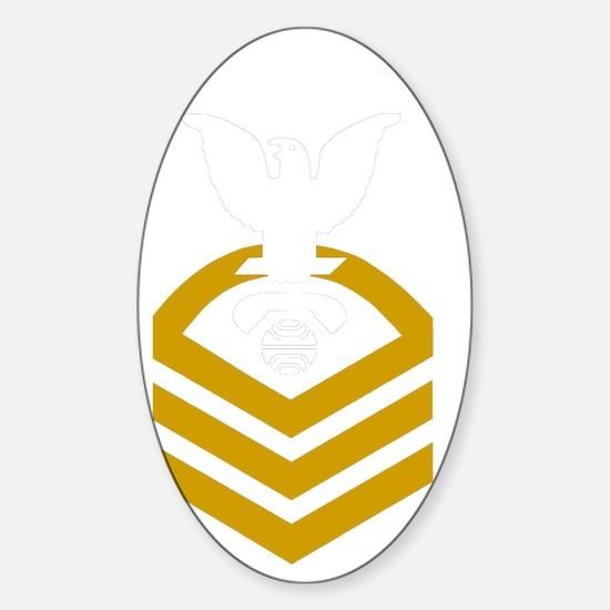 USCG-Rank-ITCM-PNG Sticker (Oval)