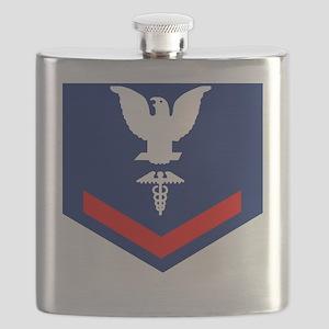 USCG-Rank-HS3 Flask