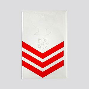 USCG-Rank-MK1- Rectangle Magnet