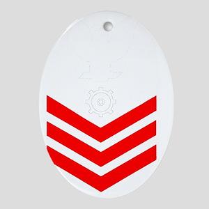 USCG-Rank-MK1- Oval Ornament