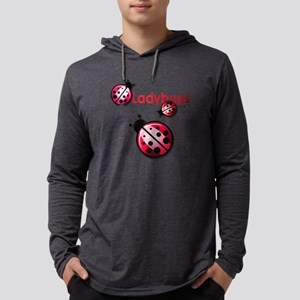 Ladybugs Mens Hooded Shirt