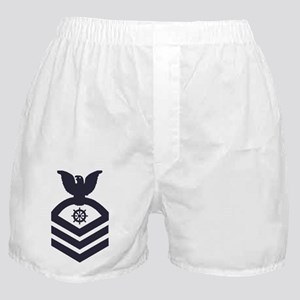 USCG-Rank-QMC-Blue-Crow- Boxer Shorts