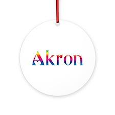 Akron Ornament (Round)