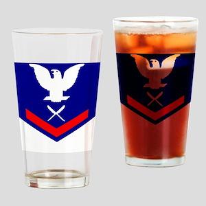 USCG-Rank-YN3 Drinking Glass