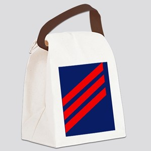 USCG-Rank-FN-Magnet Canvas Lunch Bag
