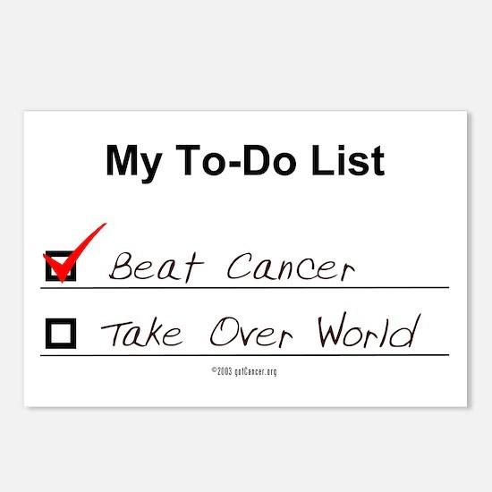 My To-Do List Postcards (8)