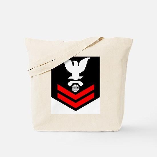 Navy-Rank-IC2-Blues Tote Bag