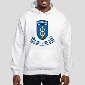 Army-8th-Infantry-Div-Germany-Sc Hooded Sweatshirt