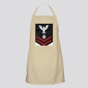 Navy-Rank-UT2-Embroidered-Red Apron