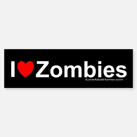 Zombies Sticker (Bumper)