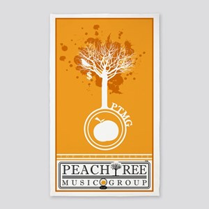 PeachTree Music Group 3'x5' Area Rug