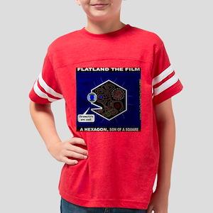 Flatland The Film - Throw Pil Youth Football Shirt