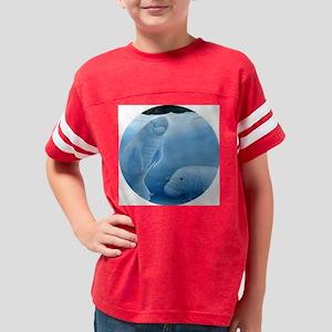 manatee haven 2 Youth Football Shirt