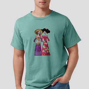 Las Calaveras Señor Mens Comfort Colors Shirt