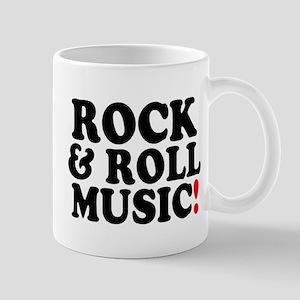 ROCK AND ROLL MUSIC! Z Small Mug
