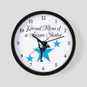 #1 SKATER MOM Wall Clock