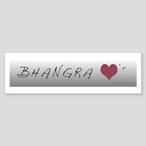 BHANGRA Bumper Sticker