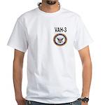 VAH-3 White T-Shirt